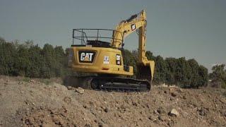Cat® 323 Next Generation Excavator Delivers More for Cooper Civil