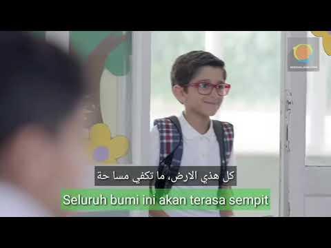 Diin Assalam - Sulaiman Al Mughni (Lirik + Terjemah). Klip Asli. Nasyid merdu tentang toleransi
