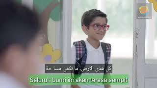 [1.01 MB] Diin Assalam - Sulaiman Al Mughni (Lirik + Terjemah). Klip Asli. Nasyid merdu tentang toleransi