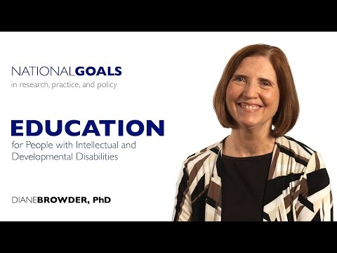 Education For People With Intellectual And Developmental Disabilities