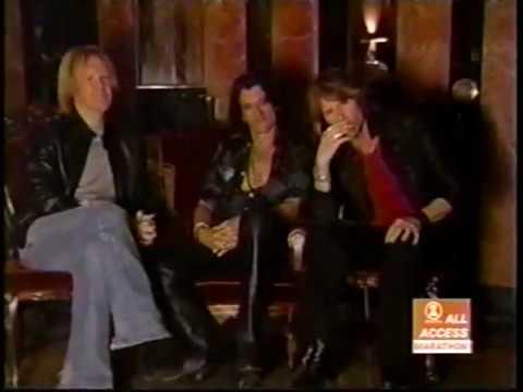 Aerosmith VH1 All Access Just Push Play album making of