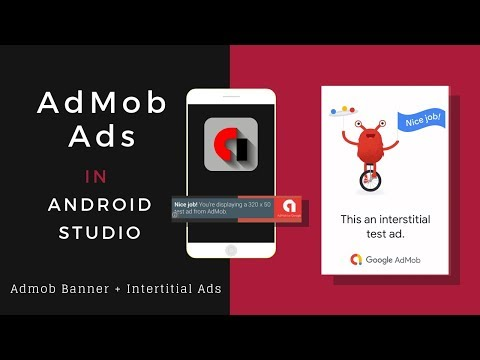 Admob Ads In Android Studio | Android App Development Tutorial thumbnail