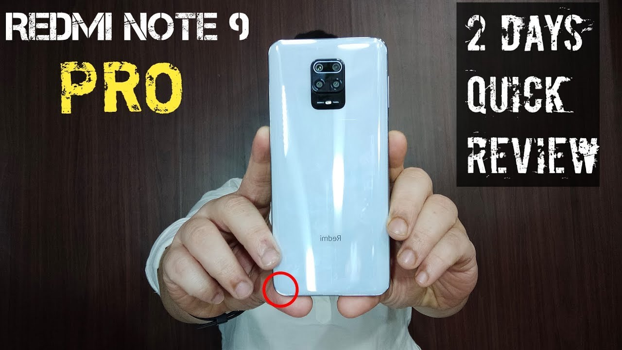 Redmi Note 9 Pro Screen Bleeding Durability 33w Charging Heating Note 9 Pro Quick Review Youtube