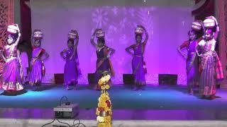 Jeevan sadhana school sulepeth 9yh annual day janapada enu koda kodava song performence by 4th&5th standard students