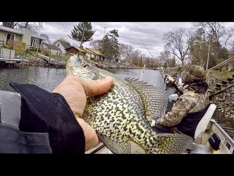Fishing The Rock River For Walleye Turned Into A CRAZY GOOD Crappie Fishing Day!