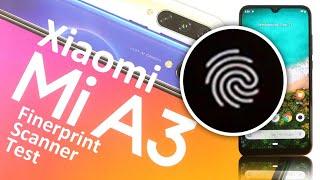 Xiaomi Mi A3 Fingerprint Scanner Test
