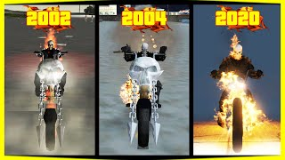 "Evolution of ""Ghost Rider"" in GTA games! (2002 - 2020)"