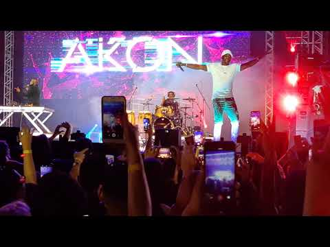 Akon Don't Matter (live) On Music Festival SP