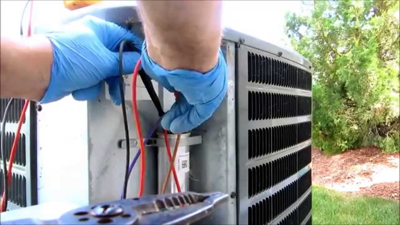 Hvacgoodman Compressor Will Not Start Youtube Coleman A C Condenser Unit Wiring Diagram