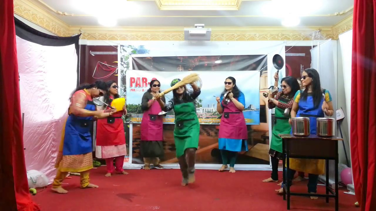 Kitchen dance by parq ladies parq newyear fest 2017 20 01 2017