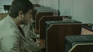 أخبار حصرية - إفتتاح مختبر حاسوب في #المخيم_الإماراتي_الأردني للاجئين السوريين