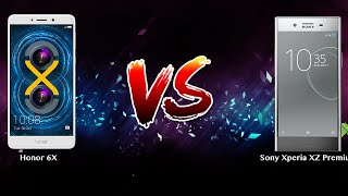Honor 6X vs Sony Xperia XZ Premium   - Phone battle