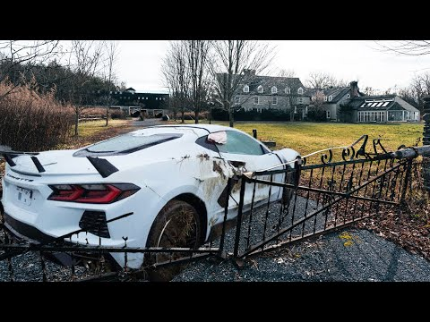 Abandoned Millionaires Family Mansion With Exotic Luxury Cars Left Behind