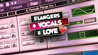 Mixing Trap Vocals Tutorial | Modern Vocal Sound using Flangers