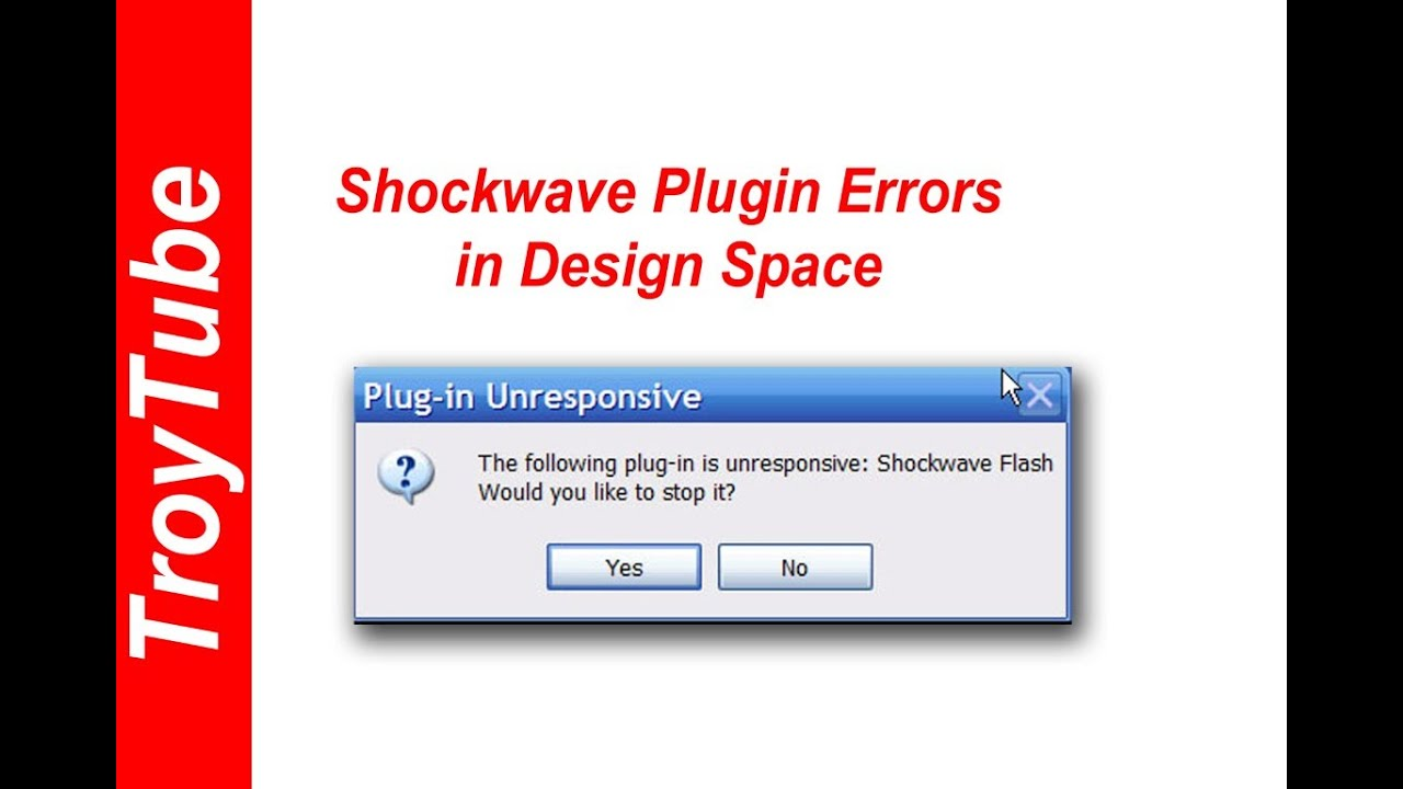 How to fix shockwave errors in Cricut Design Space