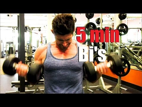 Five Minute Bicep Workout