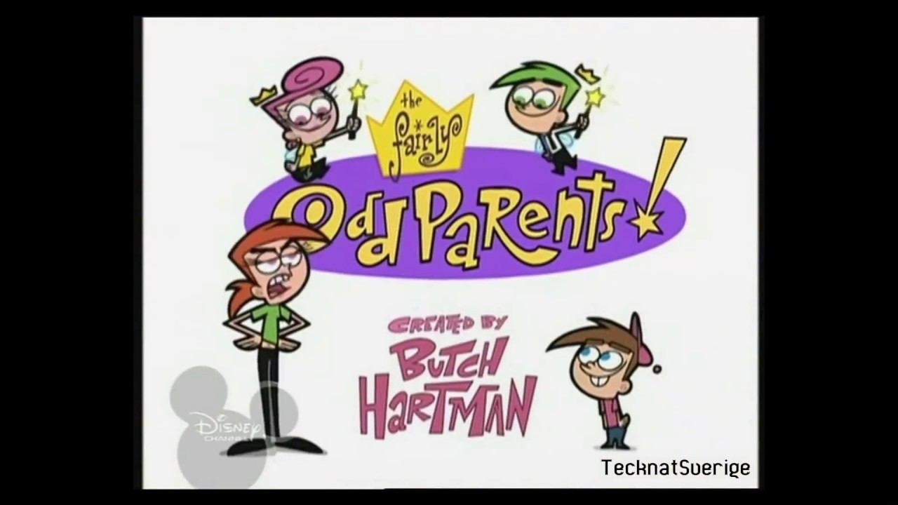 fairly odd parents svenska