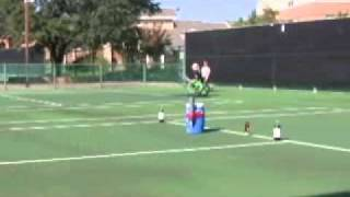 Basic Wheelchair Tennis Drills