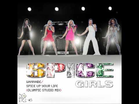 Spice Girls - Wannabe Spice Up Your Life Olympic Studio Mix