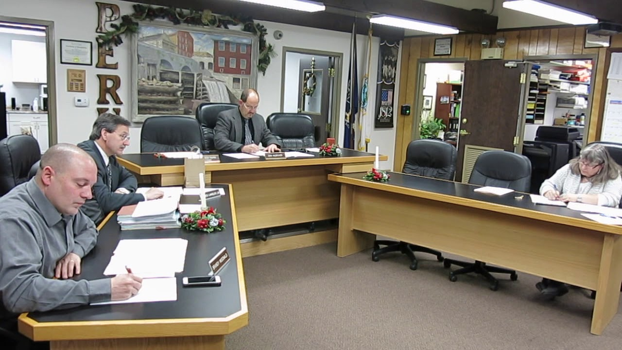 Peru Town Board Meeting   12-26-17