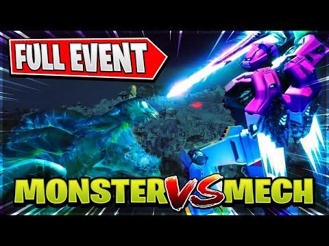 Mecha Team Leader Vs Monster