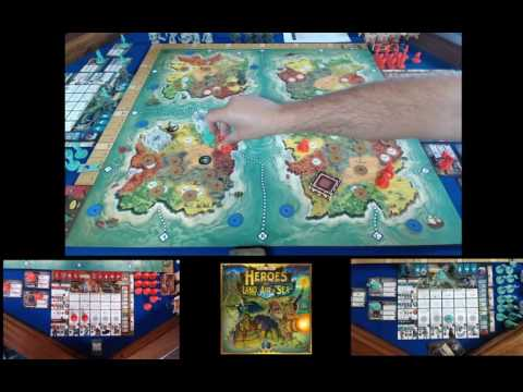 Heroes of Land, Air & Sea - 2 player w/ Nomad Expansion