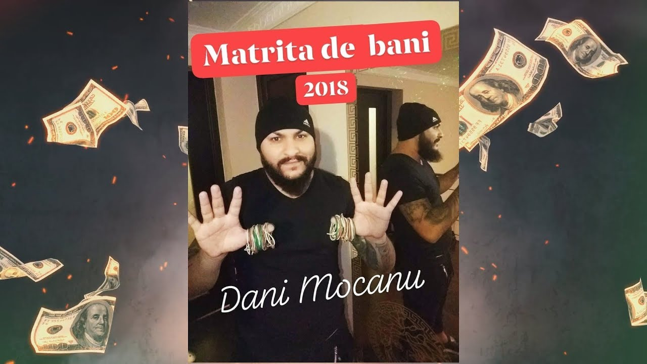 Dani Mocanu - Matrita de bani  | Official Audio
