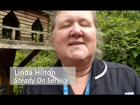 The Bay Hub People 'Linda Hilton' Steady On Service Fall Prevention