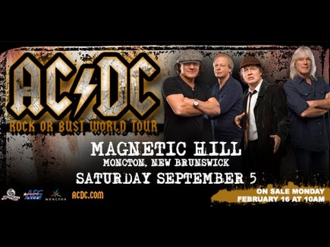 ACDC Magnetic Hill Moncton September 5th 2015