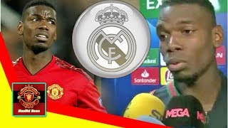 ManUtd News - Paul Pogba asked about Real Madrid after Barcelona loss - Man Utd fans will love hi...