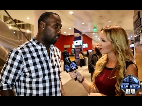 Anquan Boldin Q81 Foundation 49ers Highlights & Interviews at Levi