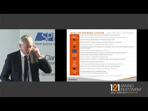 Presentation: Savannah Resources - 121 Mining Investment London 2019 Spring