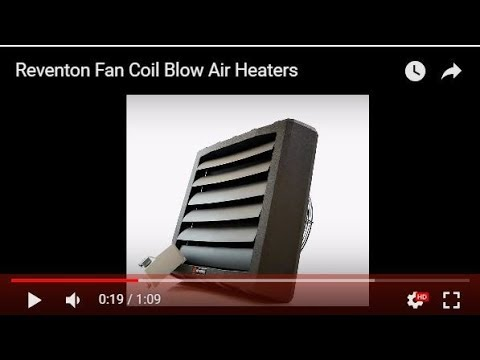 Reventon Fan Coil Blow Air Heaters