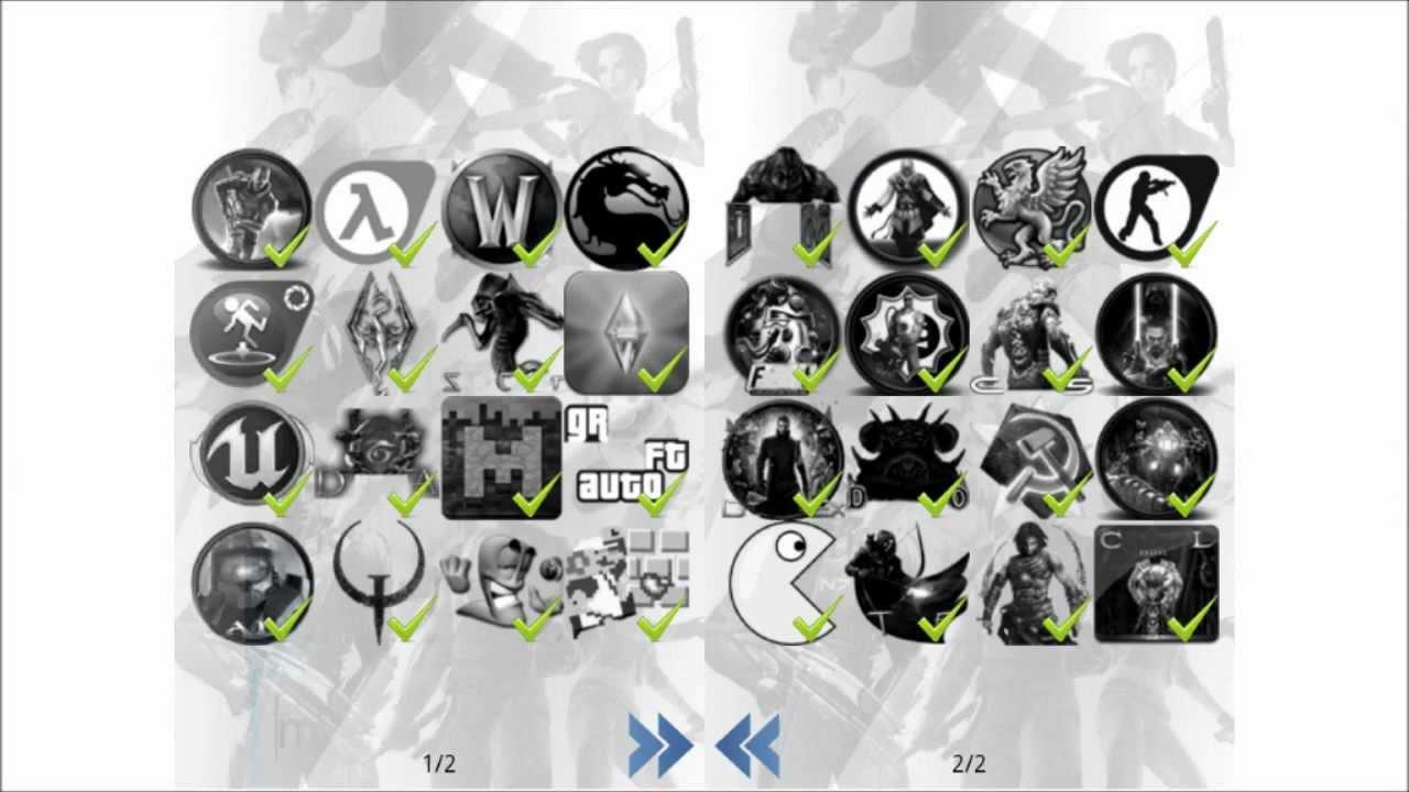 level 1 games logo quiz app l u00f6sung    walkthrough    solution