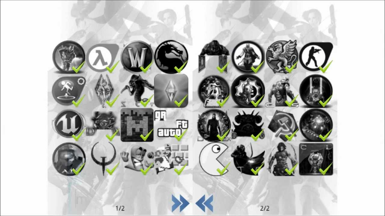 Connu Level 1 Games Logo Quiz App Lösung / Walkthrough / Solution - YouTube RK75