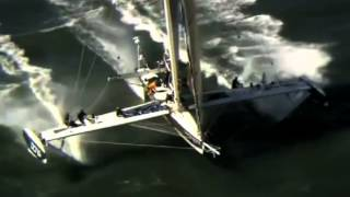 World's fastest sailboat hopes to break Transpacific speed record