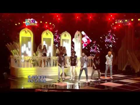 [2009-08-09] SHINee ft. SNSD Juliette - Goodbye Stage