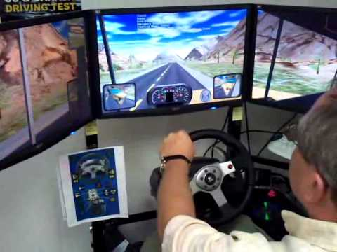 reaction time driving simulator simuride by aplusb check driver 39 s reflex youtube. Black Bedroom Furniture Sets. Home Design Ideas