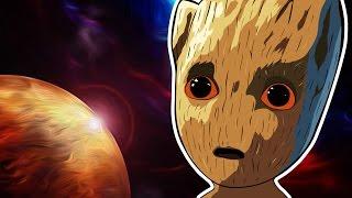 Стражи галактики трейлер | Малыш Грут | Мультик