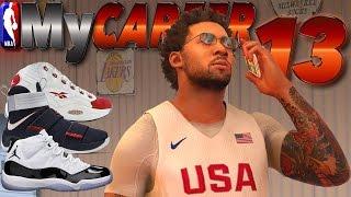 NEW SHOE DEAL / Nike, Jordan, Adidas or Under Armor? - NBA 2K17 MyCareer #13