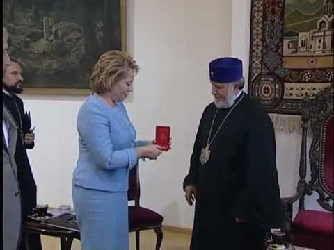 Mrs. S. A. Valentina Matviyenko's visits to the Mother See of Holy Etchmiadzin
