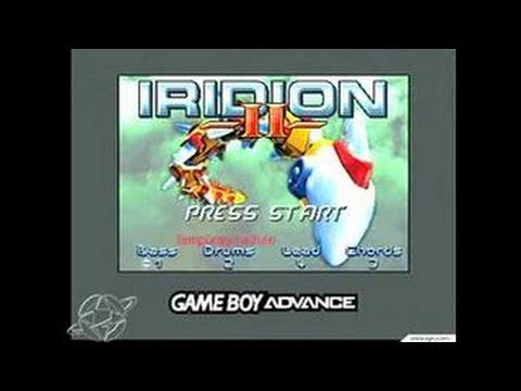 Iridion II Game Boy Gameplay