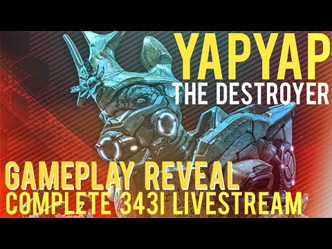 Halo Wars 2: YAPYAP THE DESTROYER Preview Stream!