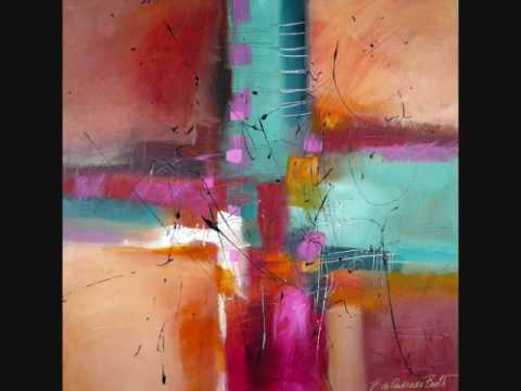 Original Abstract Contemporary Modern Art Paintings by Filomena de Andrade Booth