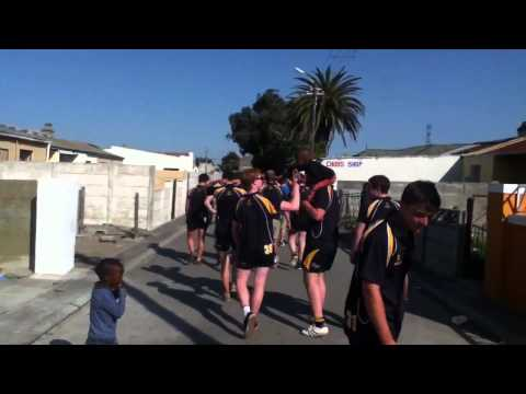 Robert Gordon's College Visiting the Langa Township, Cape Town, South Africa
