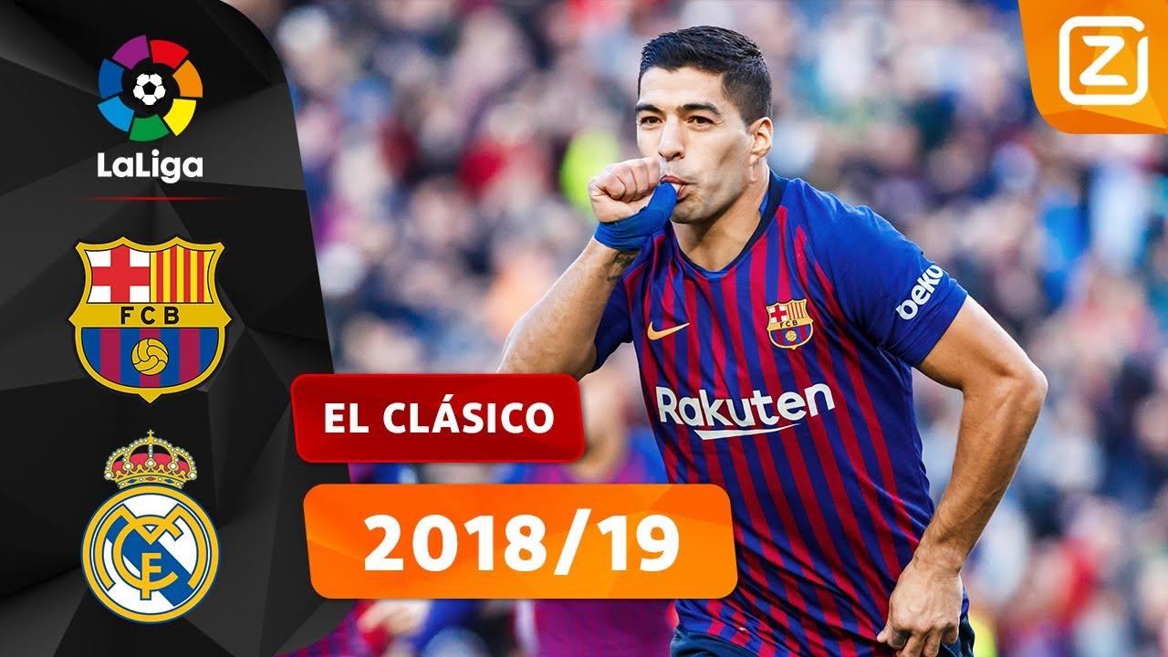 TERUGBLIK: BARCELONA MAAKT GEHAKT VAN REAL MADRID 💥😱 | La Liga 2018/19 | Samenvatting