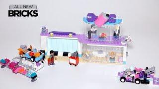 Lego Friends 41351 Creative Tuning Shop Speed Build