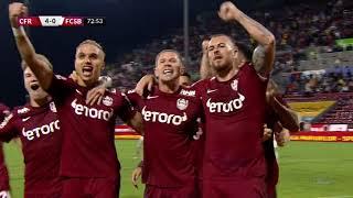 GOOOL! CFR Cluj – FCSB 4-0. Alibec a marcat din penalty