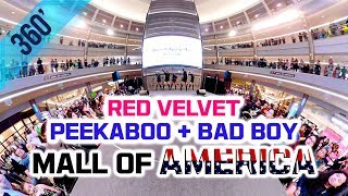 [KPOP IN PUBLIC] 👉360 Video👈 Red Velvet (레드벨벳) - Peek-A-Boo + Bad Boy Dance Cover @Mall Of America