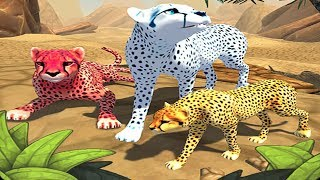 Cheetah Family Sim Android Gameplay #6
